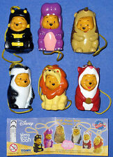 Winnie Pooh == Walt Disney Tomy Satz Large Animal 2