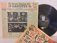 Four Seasons Genuine Imitation Life Gazette EX ORIG FULL FOLDOUT +INSERT psych