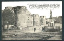Château d'Angers France 1909 B&W Collotype PC Divided Back by A. Papeghin UNUSED