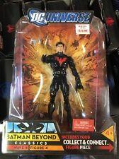 DC Universe Classics Wave 4 Action Figure Batman Beyond Unmasked Variant New