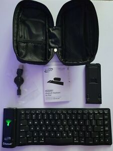 iLIVE Bluetooth Keyboard for iPad,Tablet, Android Devices w/Stand