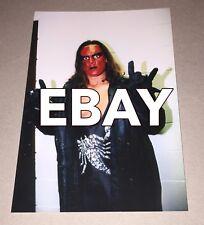 STING,Wrestling Photo,4x6,Posed,WCW,nWo,Red/Black,WolfPack,NWA,UWF,Icon,Legend