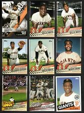 2020 Topps Series 1 HOBBY MASTER TEAM SET Inserts + Chrome San Francisco Giants