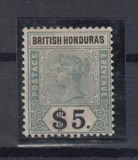 C2747/ BRITISH HONDURAS – VICTORIA – SG # 65 MINT MH – CV 400 $