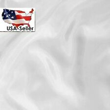 """5  yards white polyester lining fabric 60""""  great for Bridal Lining"""