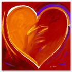 """Simon Bull HAND SIGNED Limited Edition """"Deep In My Heart"""" UK/US artist"""