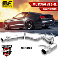 19103 2015-2017 FORD Mustang V8 Magnaflow Axle-Back Exhaust System