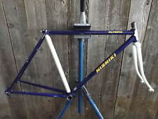 Used Nishiki Olympic Frame and Fork (48 cm)...Blue/Purple with White Accents