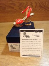 Raine Just the Right Shoe Coa Box Night Fever 25317 Stepping Out