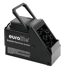 EUROLITE B-60 JUNIOR bubble machine DI BATTERIA NERO PARTY NOZZE BAMBINI DISCOTECA