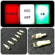 Texas Star Linear Amplifier Push Button Light Bulb LED Replacements (6 LED'S)