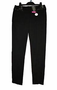 ! EX F&F ! Pair of Black Slim Leg Fit School Trousers Age 8-9 yrs Brand New