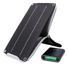 Powerplus Cocodrilo Portátil Cargador solar de 5 W y 10.400 mAh Powerbank