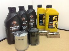 KIT ORIGINALE OLIO FILTRO CANDELE HARLEY DAVIDSON SOFTAIL DYNA TOURING TWIN CAM