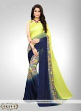 Bollywood Saree Party Wear Indian Pakistani Ethnic Wedding Designer Sari L185