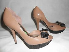 New Guess shoes, mocha with black glitter US8 UK5,5  RRP £99