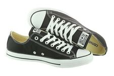 b5628c34932f7b CONVERSE Unisex All Star Chuck Taylor Black Athletic Sneakers Canvas Shoes  M9166