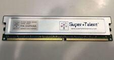 Super Talent DDR SDRAM PC3200 (DDR400) 256MB 184 Pin D32PA56A TESTED