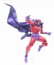 SU-C-MG-PP: Wired Purple cape for Marvel Legends / Revoltech Magneto (No Figure)
