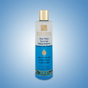 Health and Beauty Dual  Phase Eye & Lips Makeup Remover Enriched with Vitamin E