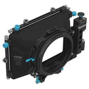 AU FOTGA DP500III DSLR Swing-away Mattebox fr 15mm Rod Rig BMCC BMPCC DV HDV Cam