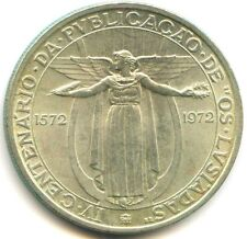 """Portugal République 50 Escudos argent (1972) """"OS LUSIADAS"""" KM 602"""