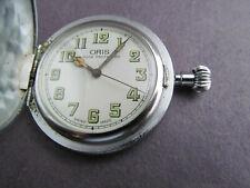 Vintage Oris Pocket watch Shock protected Swiss made (not running)