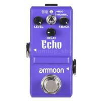 ammoon Nano Series Delay Guitar Effect Pedal True Bypass E9V1