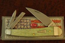 CASE XX USA MINT GREEN BONE SEAHORSE WHITTLER KNIFE 2017 NICE (1673)