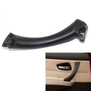 Black Left Inner Door Panel Handle Pull Trim Cover For BMW 3 Series E90 325 330