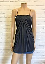 Paule Ka Stunning Ruched Evening Bustier Top Cut Out Back Uk 10