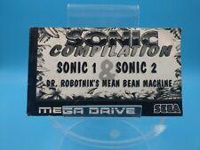 jeu video notice BE sega megadrive sonic compilation