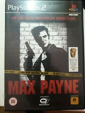 Max Payne AT Playstation 2 Rockstar Games SEHR GUT in OVP Englisch