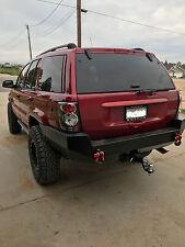 Jeep Grand Cherokee WJ Rear Steel Custom Bumper