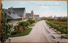 Santa Monica, CA 1914 Postcard: Soldiers Home - California Cal