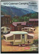 Coleman Camping Trailers 1970 Catalog The Carefree Ones