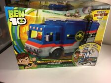 Ben 10 Deluxe Rustbucket Transforming Vehicle to Playset NEW ASIS Toys Cartoon