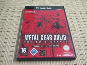 Metal Gear Solid The Twin Snakes für GameCube *OVP*