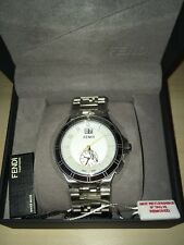 RARE! - MENS SWISS MADE WATCH - FENDI - HI-SPEED QUARTZ   F477160B