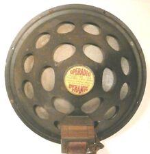 "vintage* OPERADIO DYNAMIC 12"" FIELD COIL SPEAKER - Working - 2350 OHMS F.C."