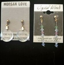 Austrian crystal earrings (E)