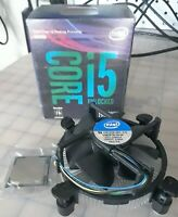 Intel 8th Gen Core i5 8600K 4.3GHz Turbo LGA 1151 Hexa-Core, fan & Heatsink