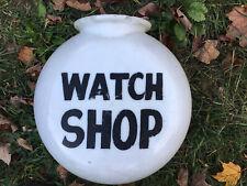 Gas Pump Globe Watch Shop Globe Sign.