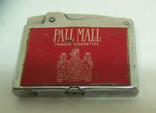 Pall Mall tobacco advertising flat cigarette lighter Continental Japan