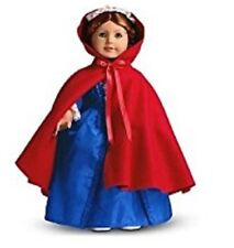 American Girl Felicity Cardinal Cloak NEW!! Retired Colonial Holiday