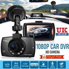"2.4"" 1080P HD Car DVR Camera Dash Cam Video Recorder Night Vision G-Sensor UK"
