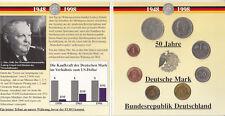 50 Jahre Deutsche Mark Jubiläumsausgabe Münzsammlung 1948 -1998