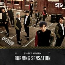 SF9 [BURNING SENSATION] 1st Mini Album CD+64p PhotoBook+2p Card K-POP SEALED
