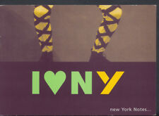 Advertising Postcard -  I Love New York, New York Notes Literature Guides  T962