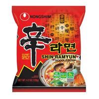16 - Nongshim Gourmet Noodles, Spicy Shin Ramyun, 16-count Korean noodles Ramen